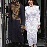 Kim Kardashian, 35, and Kanye West, 38