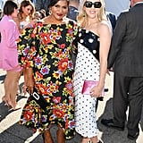 Mindy Kaling and Scarlett Johansson at the 2020 Spirit Awards