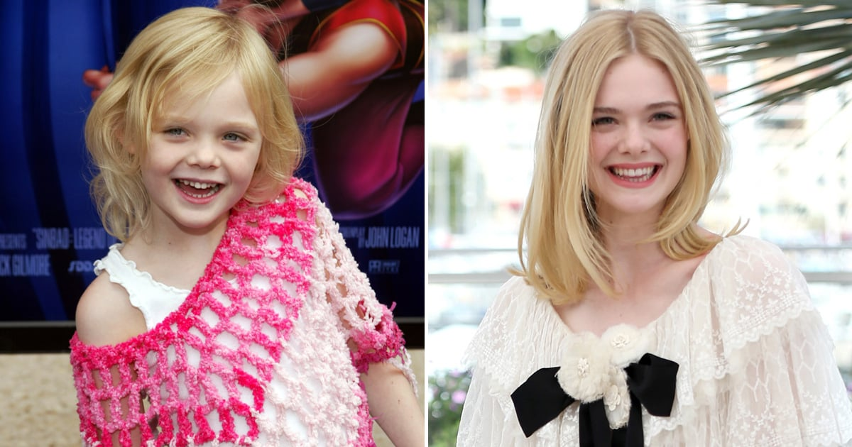 Elle Fanning's Evolution From Young Starlet to Bombshell Beauty, in Pictures