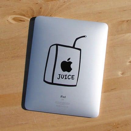 Photos of iPad Decals