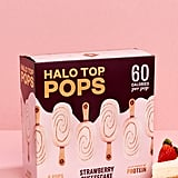 Halo Top Pops in Strawberry Cheesecake