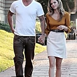AnnaLynne McCord and Dominic Purcell together in LA.