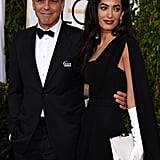 George Clooney and Amal Alamuddin at the Golden Globes 2015