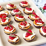 Brie & Cranberry Potato Bites