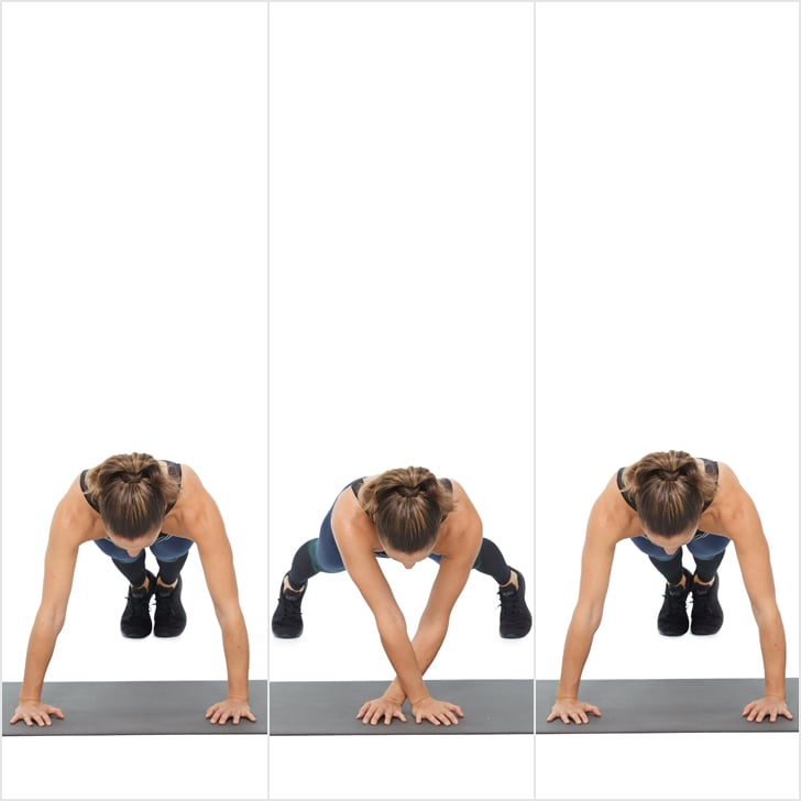Circuit 3: Side-Walking Plank