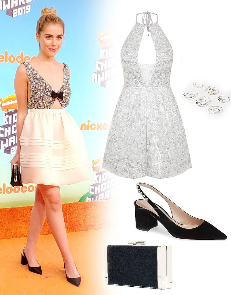 640e5f71fd3 Kiernan Shipka s Miu Miu Dress at Kids  Choice Awards 2019 ...