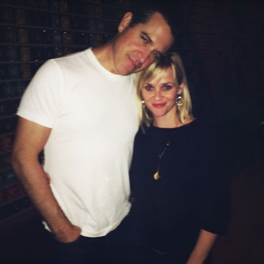 Reese Witherspoon and Jim Toth Anniversary Instagram