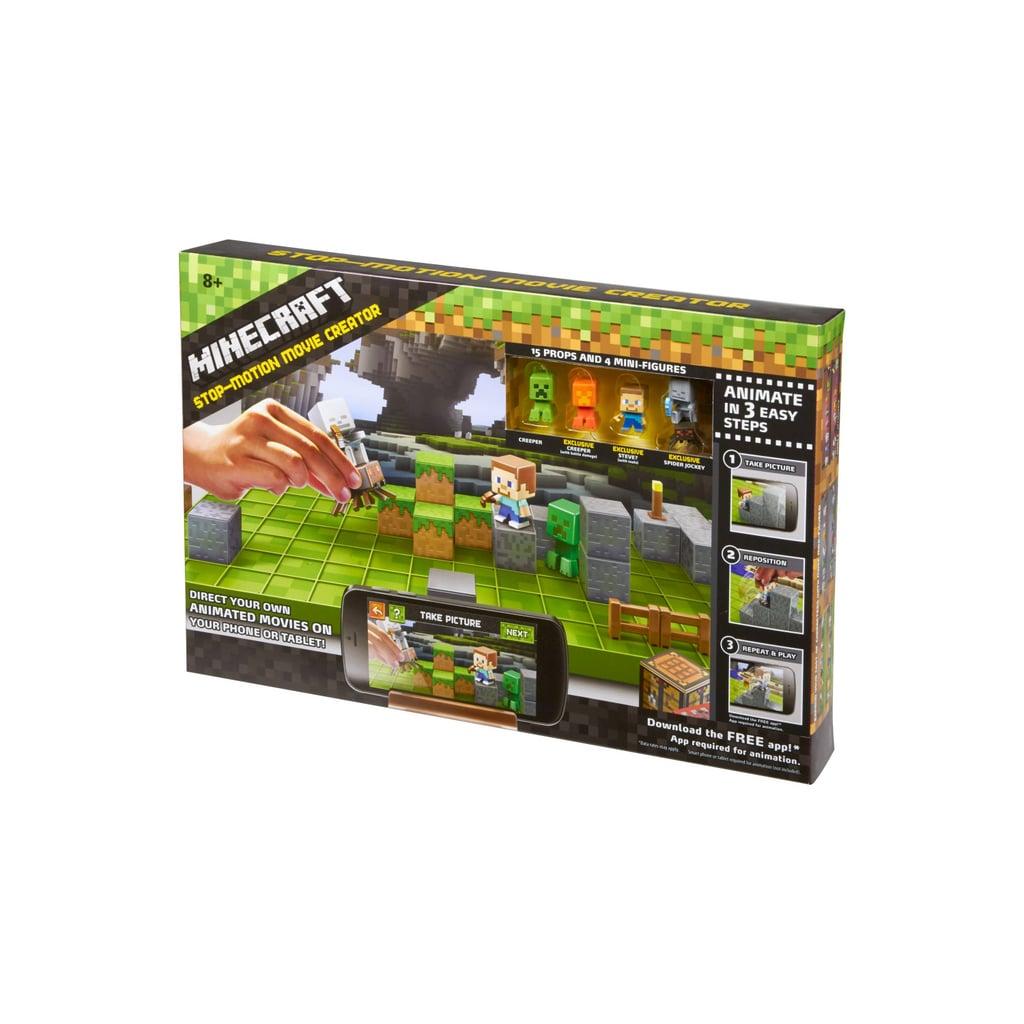 Mattel Minecraft Stop-Motion Movie Creator Playset