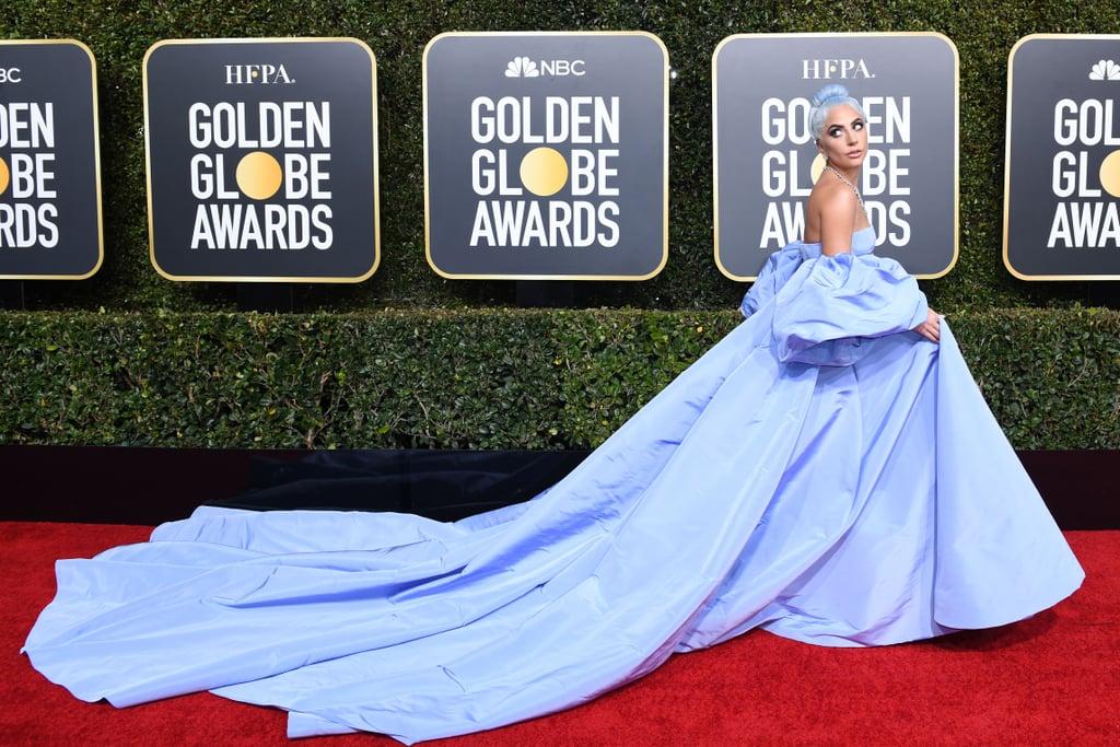 Lady Gaga Dress Golden Globes 2019