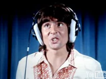 "Flashback: Davy Jones on ""The Brady Bunch"""