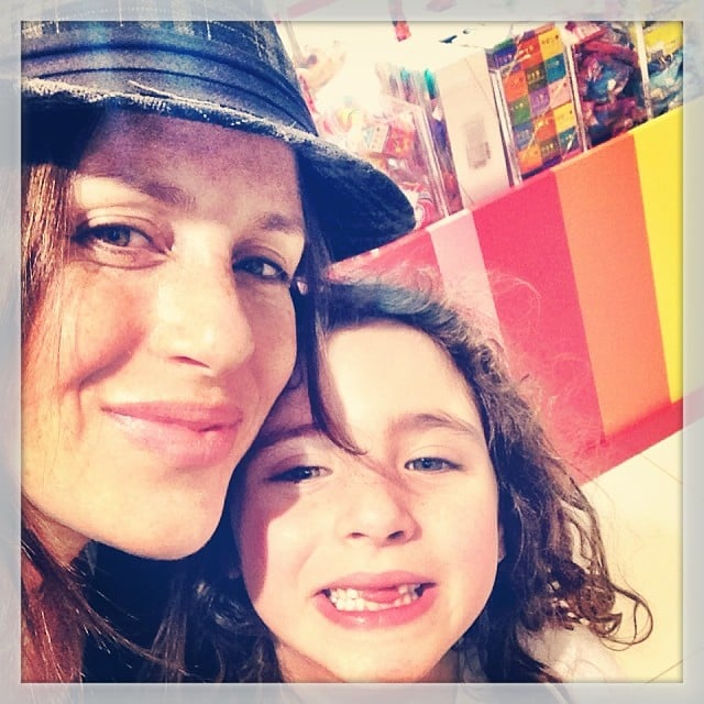 Soleil Moon Frye took a break from baby Lyric to spend some time with daughter Poet.  Source: Instagram user moonfrye