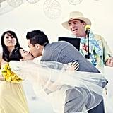 Beach Party Wedding