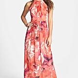 Eliza J Print Chiffon Maxi Dress ($158)