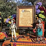Displays will teach you the origins of Día de los Muertos.