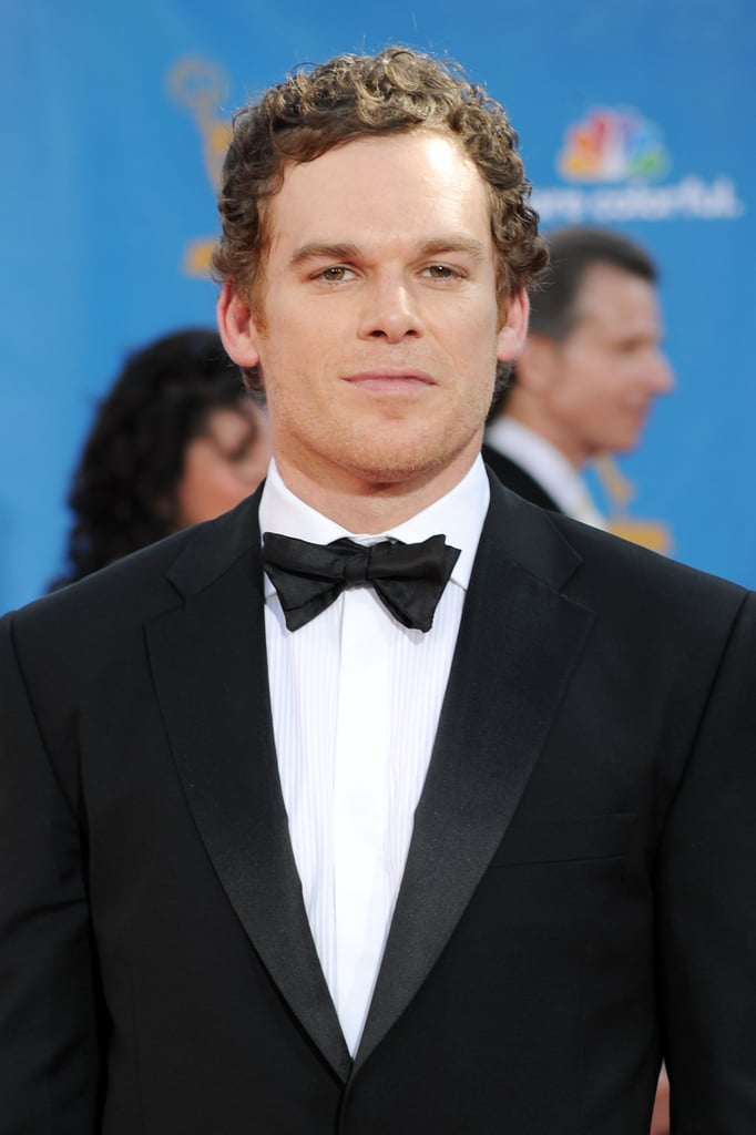 Dexter's Michael C. Hall and Jennifer Carpenter on the Emmys Red Carpet