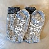 Watching One Tree Hill Calf Socks