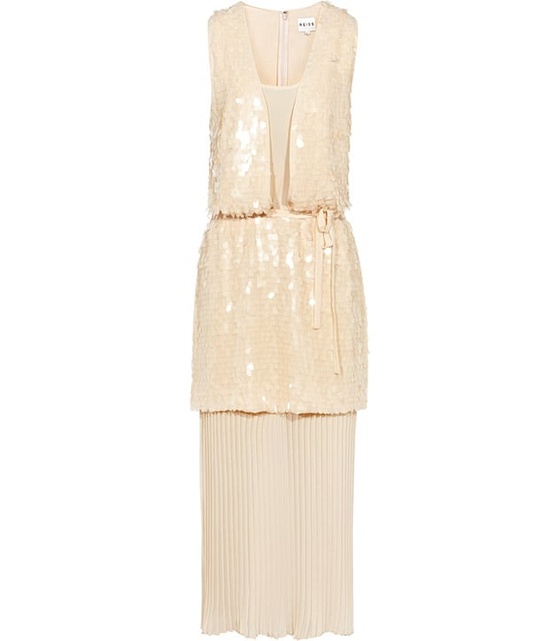There's something about this vintage-inspired dress — it has the perfect amount of romantic appeal without being too costumey.  Reiss Swinton Embellished Maxi Dress ($555)