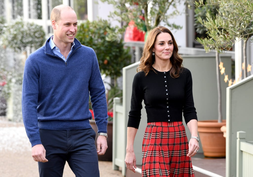 Kate Middleton and Prince William's Christmas Military Party