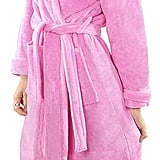 NY Threads Fleece Bathrobe