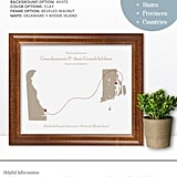 Personalized Long Distance Map