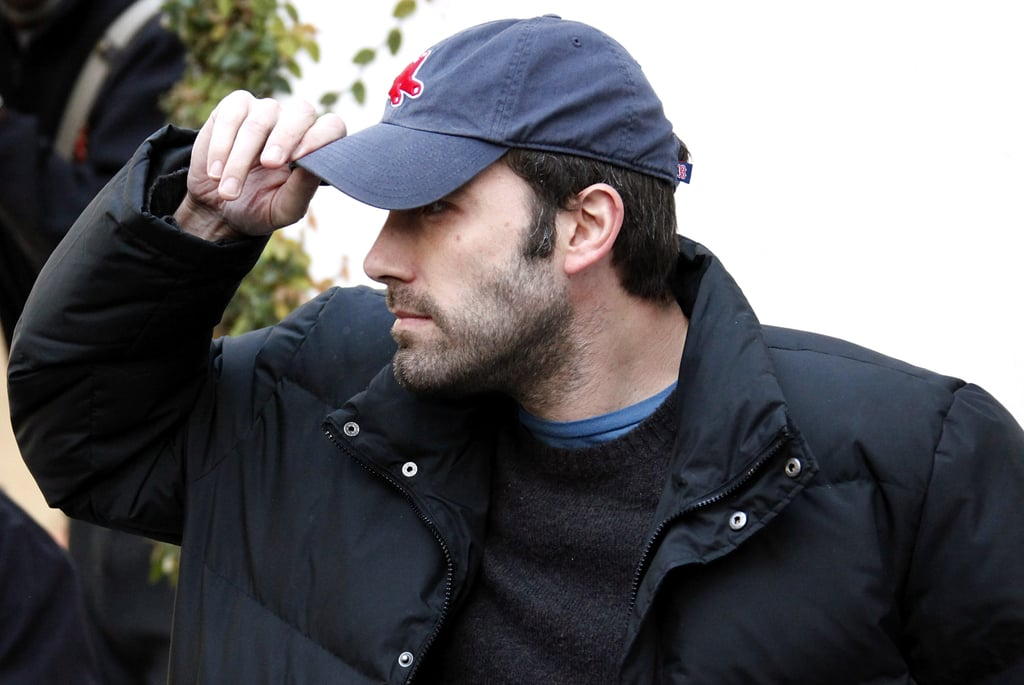 When He Adjusted His Boston Red Sox Cap Ben Affleck S