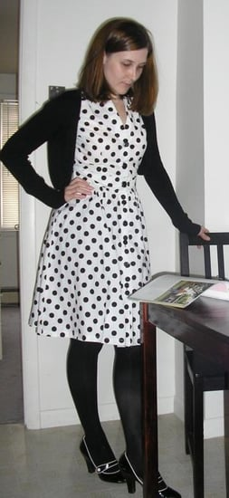 Look of The Day: Pretty Polka Dots