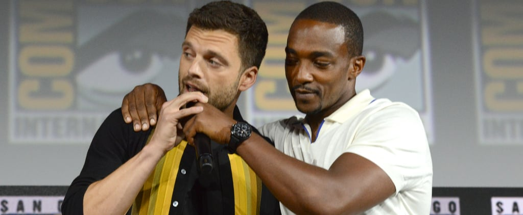 Funniest Sebastian Stan and Anthony Mackie Interview Moments