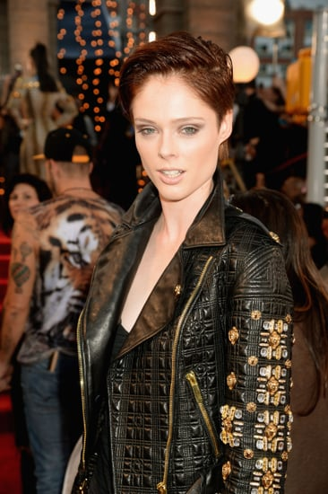 Coco-Rocha-styled-her-new-short-pixie-sleek-wet-look