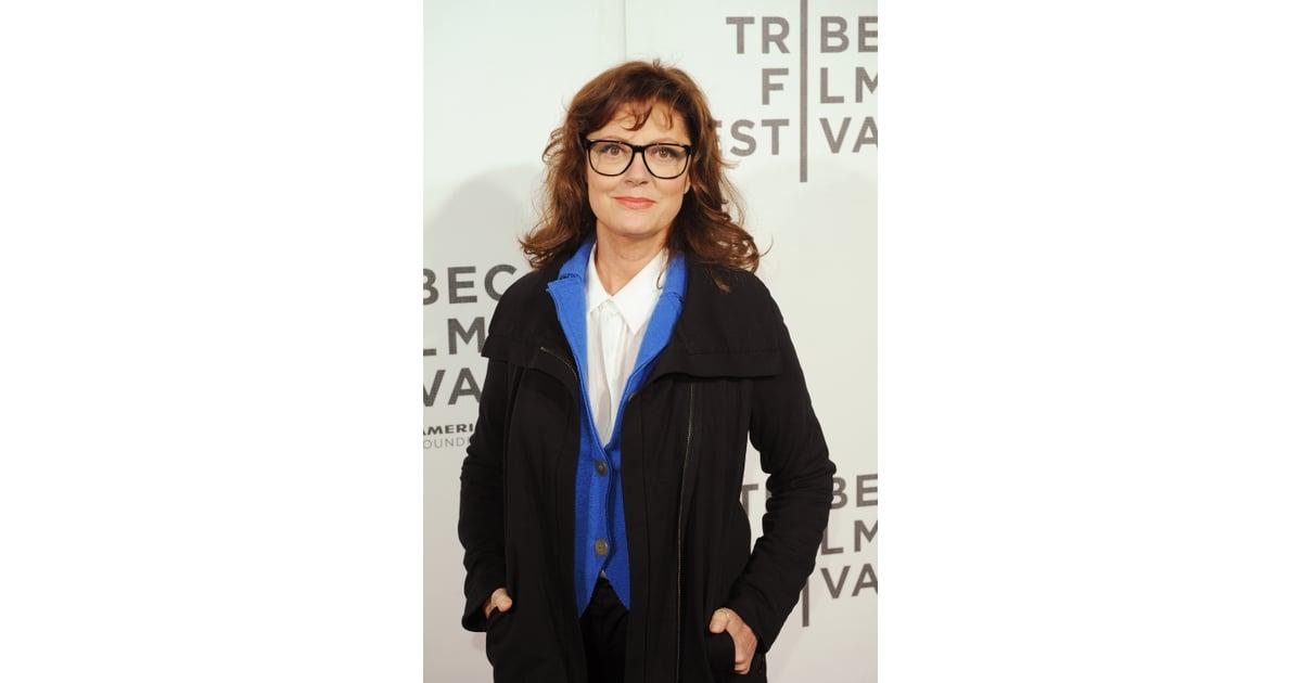 Susan sarandon c l brit s qui portent des lunettes de for Portend or portent