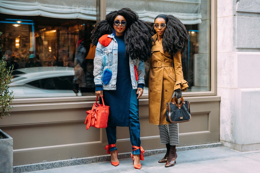 Street Style At New York Fashion Week Fall 2018 Popsugar