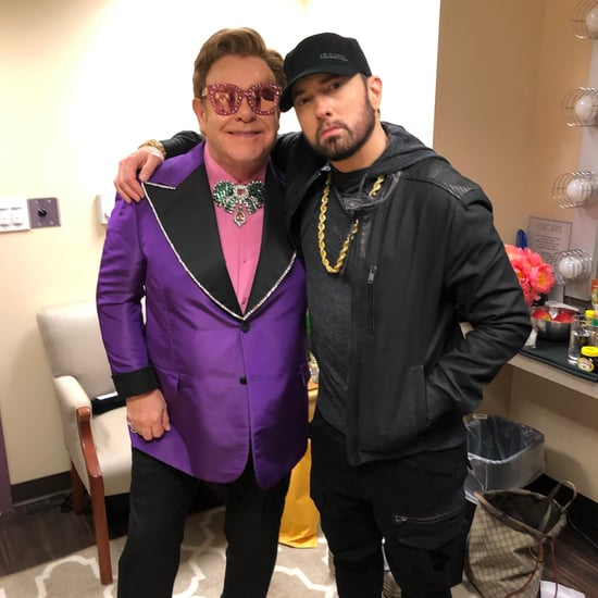 Eminem Reunited With Elton John at the 2020 Oscars
