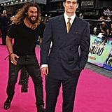 Jason Momoa at Suicide Squad London Premiere