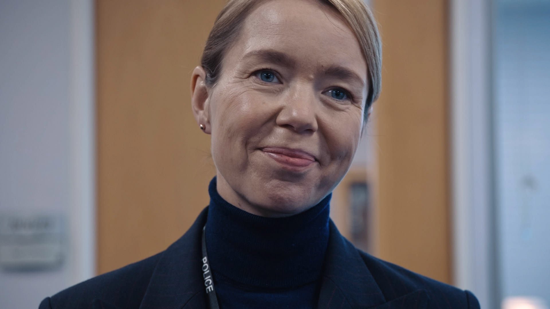 WARNING: Embargoed for publication until 00:00:01 on 13/04/2021 - Programme Name: Line of Duty S6 - TX: n/a - Episode: Line Of Duty - Ep 5 (No. n/a) - Picture Shows: *NOT FOR PUBLICATION UNIL 00:01HRS, TUESDAY 13th APRIL, 2021* Carmichael (ANNA MAXWELL MARTIN) - (C) World Productions - Photographer: Screen Grab