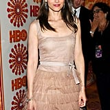 Amanda Peet was among the guests at the HBO Emmy afterparty.
