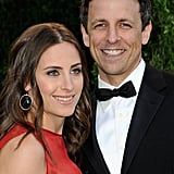 Seth Meyers and Alexi Ashe