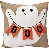 Celebrate Halloween Together Boo Ghost Throw Pillow