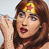 Look 2: Lichtenstein Wonder Woman