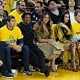 Beyoncé's Outfit at the NBA Finals 2019
