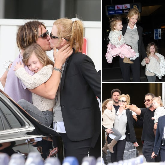 Nicole Kidman and Her Girls Wrap Up a Busy Awards Season Weekend