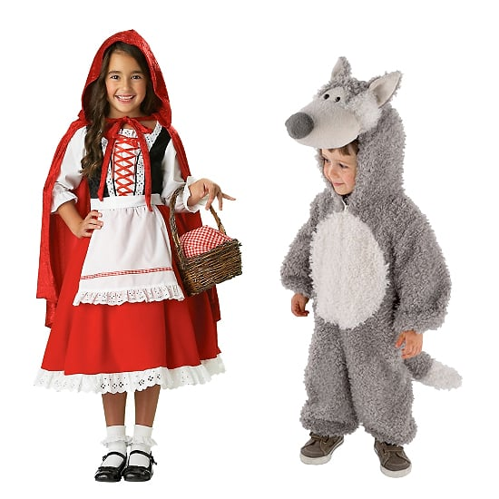 Little Red Riding Hood And The Big Bad Wolf Kids Halloween