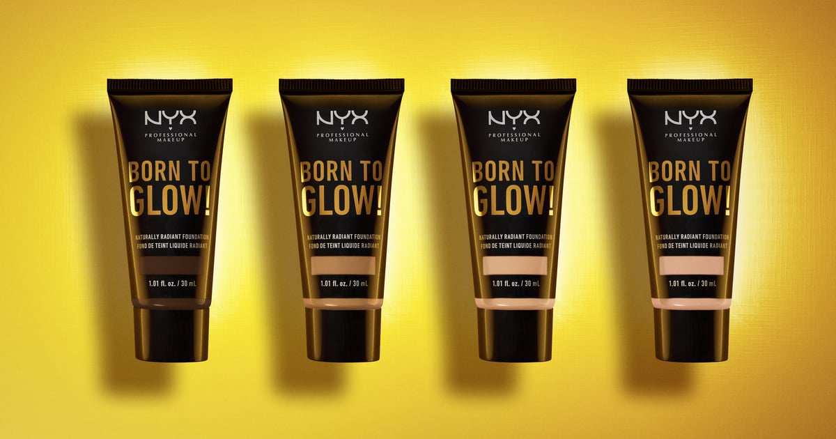 Nyx Born To Glow Naturally Radiant Foundation Review Popsugar Beauty