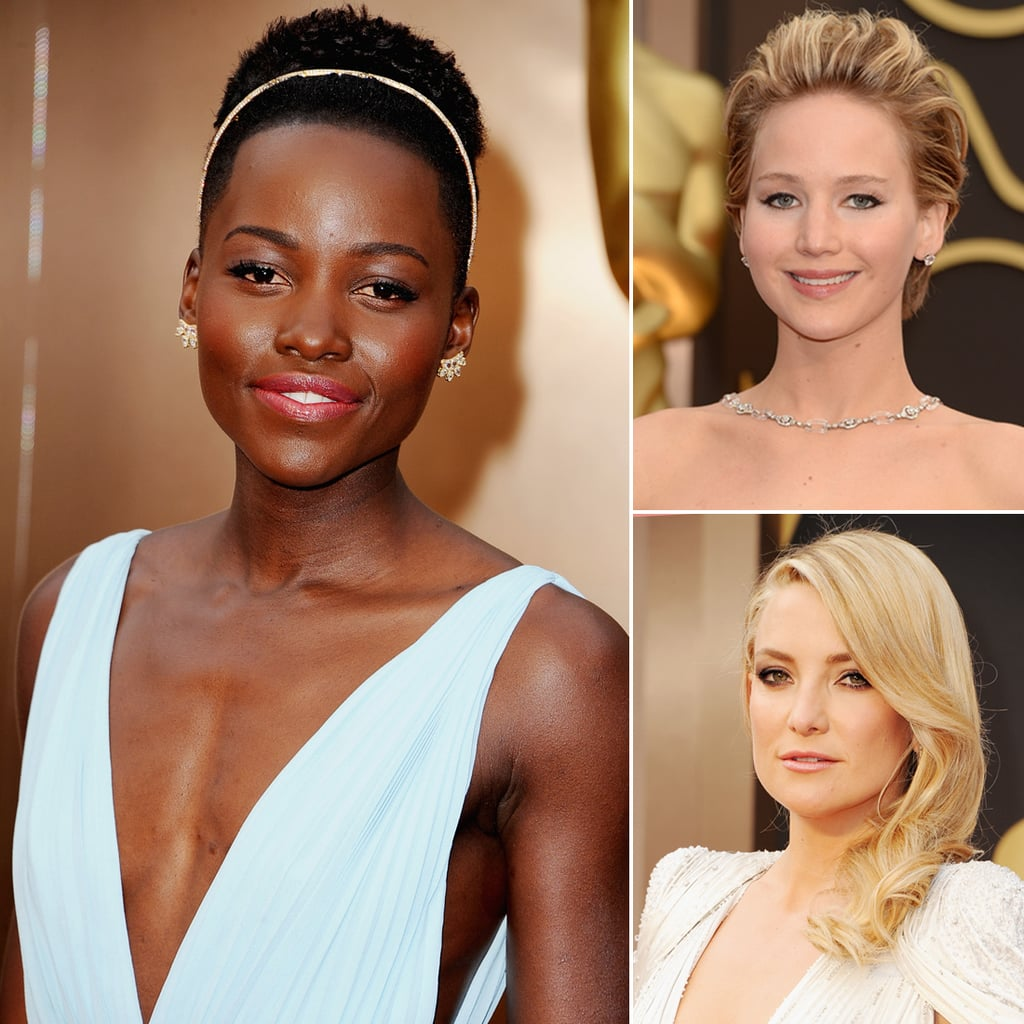 Oscars 2014 Hair and Makeup on the Red Carpet