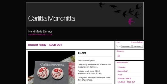 Carlitta Monchitta Earrings