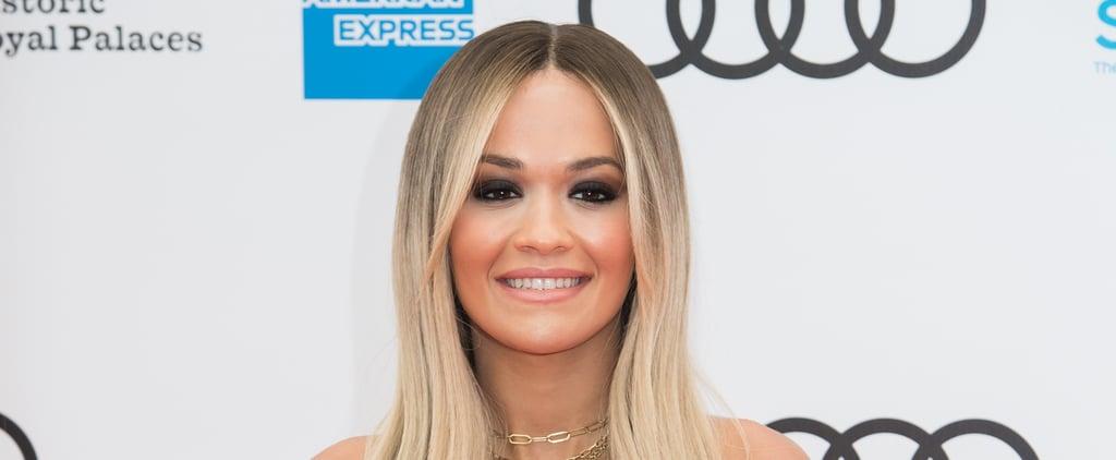 Rita Ora Platinum Mullet Haircut Trend