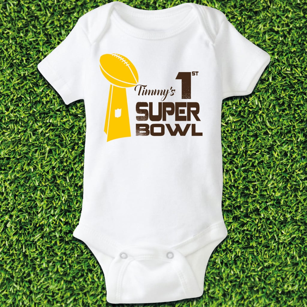 Baby's First Super Bowl Trophy Onesie