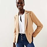 Loft Elbow Patch Modern Blazer