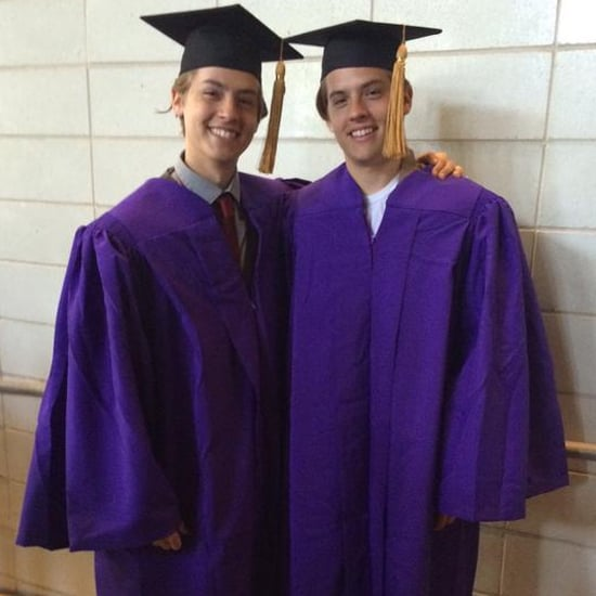Dylan and Cole Sprouse Graduate From NYU | Pictures
