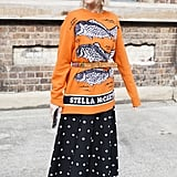 Belt a Long Printed Sweater