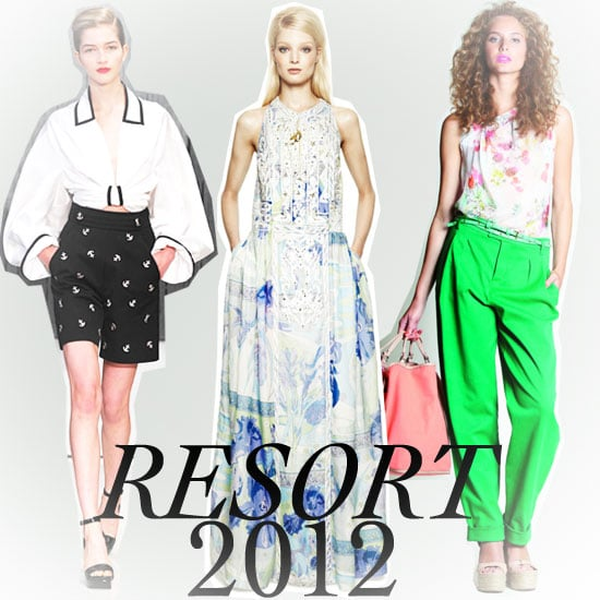 Resort 2012 brought us a bevy of wild colours, cool silhouettes and an array of prints. But what does it all mean? We're breaking it down for you, supplying you with the top ten trends culled from all of the collections. Think surf-inspired gear, tropical prints, and pajama dressing. Got your pen and paper sorted? Good — click through for the rest of the top trends and start taking notes!
