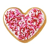 The Sprinkle Heart Doughnut